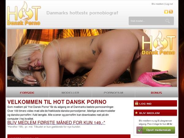 Hot Dansk Porno Teen