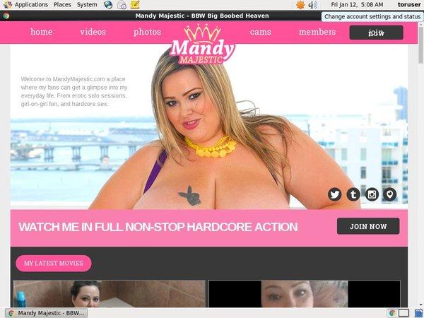 Joining Mandy Majestic