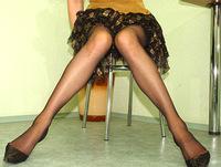 Momsinpantyhose mature in pantyhose
