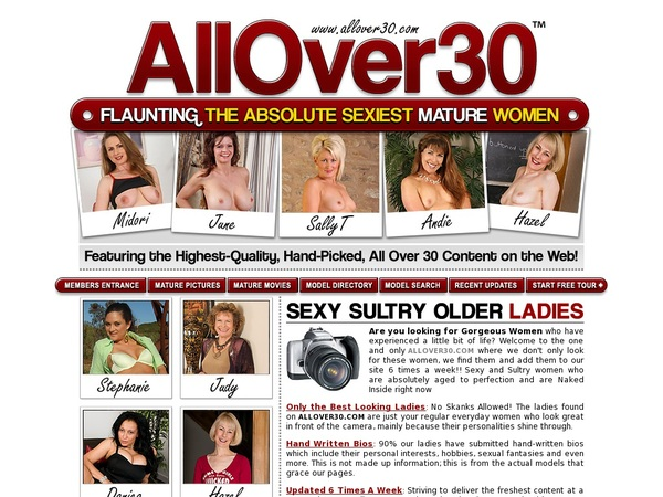 Login For Allover30original