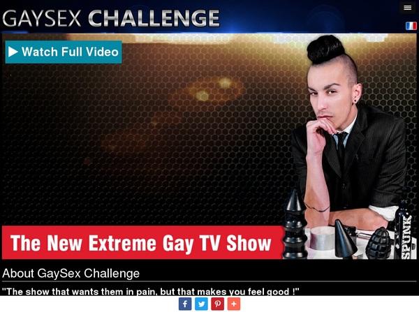 Gay Sex Challenge Free Membership