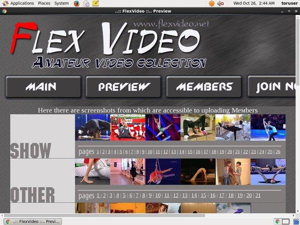 Flexvideo Login Free