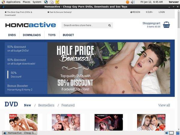 Passwords Homoactive