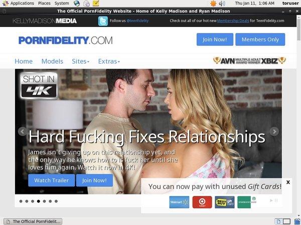 Pornfidelity.com Join Page