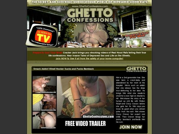 Free Ghetto Confessions Premium Passwords
