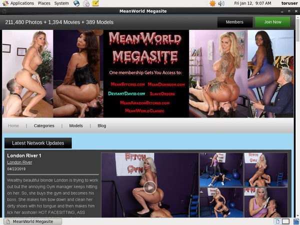 Mean World Account New