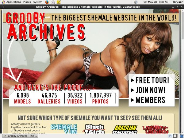 The Grooby Archives Free Id