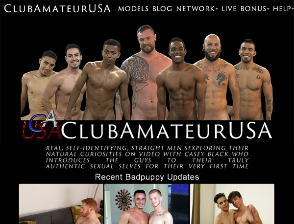 Club Amateur USA Working Accounts