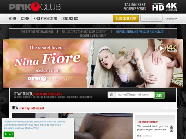 Pinkoclub.com Premium Acc